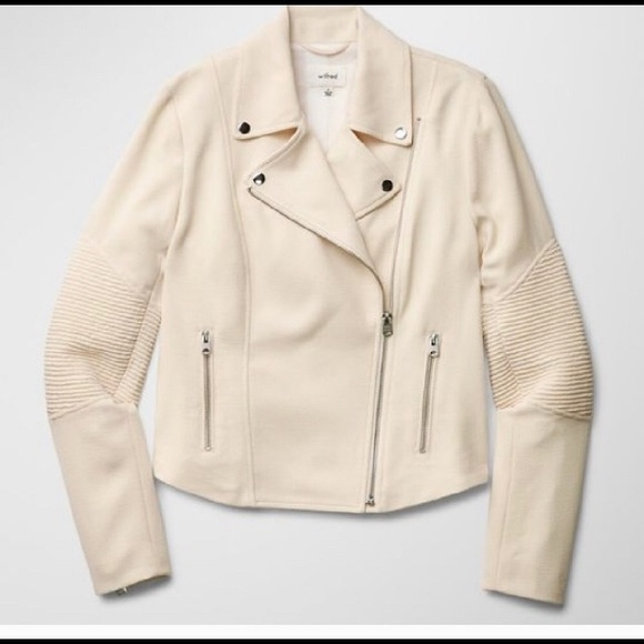 Wilfred Jackets & Blazers - Wilfred montesson jacket size 0 in cream